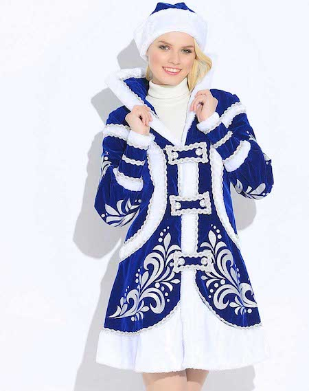 Костюм Снегурочки Купеческий