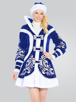 купеческий костюм снегурочки
