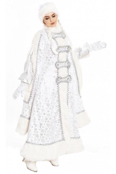 Снегурочка в белом костюме Боярыня