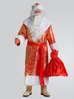 Золотой костюм деда мороза