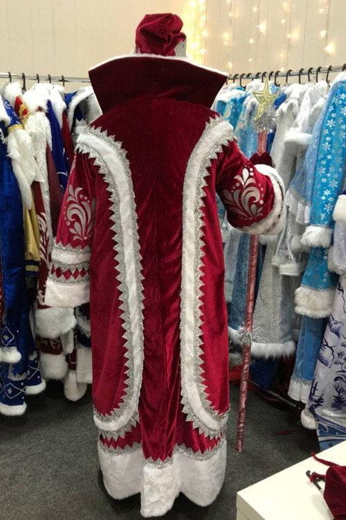 Купеческий костюм вид сзади