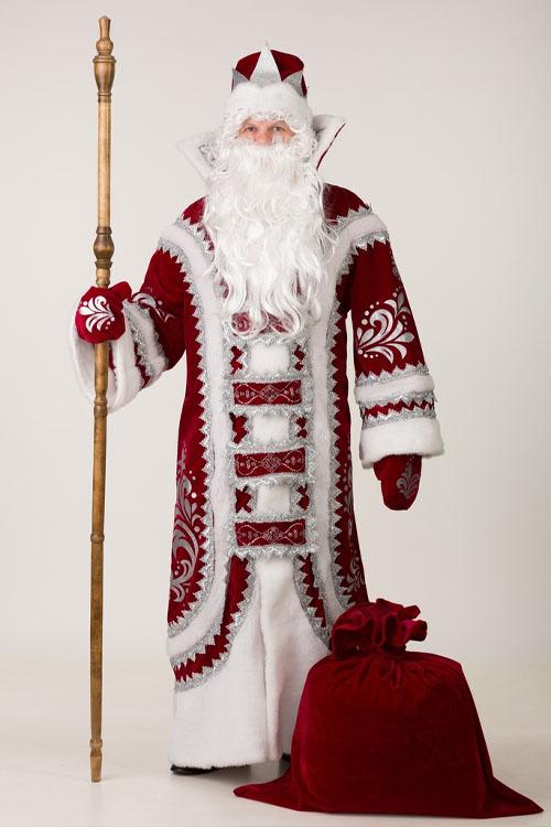 купеческий костюм деда мороза общее фото