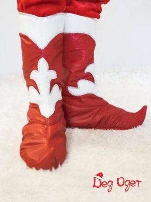 красные накладки на сапоги