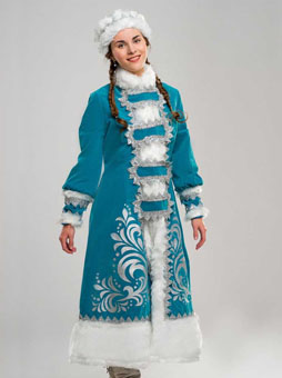 костюм снегурочки аппликация