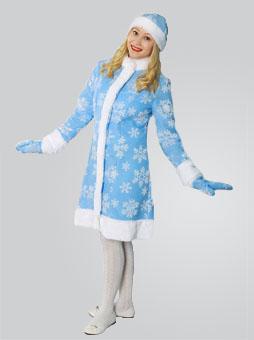 меховой костюм снегурочки