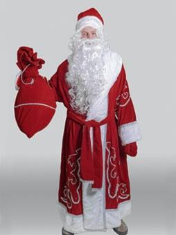 Традиционный костюм деда мороза