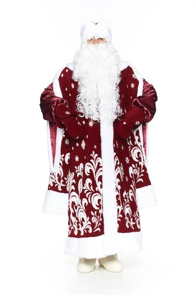 Боярский костюм деда мороза во весь рост